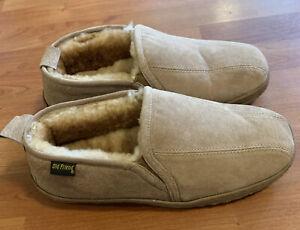 Old Friend Romeo Moccasin Slippers - Men's Size 11 5E Fleece Lined