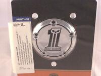 Harley Davidson No.1 Skull Zündungsdeckel Timer Cover Zündung Deckel 32519-10