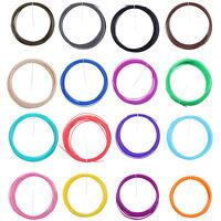 Colors 20M 3D Printer Filament 1.75mm 3mm ABS PLA MakerBot RepRap Sales