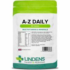 Multivitaminas y Minerales A-Z Tabletas Diarias De Vitamina C Hierro De Zinc