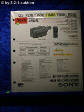 Sony Service Manual CCD TR530E /TR550E /TR570E /TR650E /TR750E (#3675)