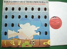 March Glorious Great Themes from Film & TV Regimental Band Coldstream Guards LP