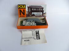 """POLA N - B 215;. MAQUETTE A CONSTRUIRE POSTE D'AIGUILLAGE """"BRÜGGE"""""""