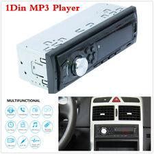 1Din Car LED Digital Stereo FM Radio Receiver Bluetooth/USB/TF/AUX MP3 Player