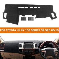 For Toyota Hilux 150 Series SR SR5 05-15 Dashmat Dashboard Cover Dash Mat Carpet