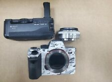 New ListingSony Alpha a7R Ii 42.4Mp Digital Camera W/ Lens + Nd Filter - White Camo (Black)
