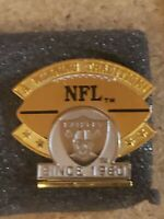 Oakland Raiders Winning Traditions since 1960 Pin Limited Edition #17 of 5000