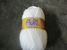 1 of Teddy Avril Double Chunky White. 200g Yarn / Wool. Shade 1 150mtrs.