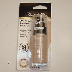 Revlon ColorStay 24hr Makeup Foundation with Pump Normal/Dry 110 Ivory BS SPF20
