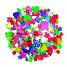 ASSORTED JUMBO SPANGLES FOR COLLAGE/KIDS CRAFTS 100g