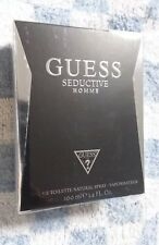 Guess Seductive 3.4oz Men's Eau de Toilette, Brand New and Factory-sealed