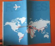 Routes Swissair atlas Swissair's  destinations