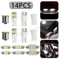 14X LED Soffitte Innenraumbeleuchtung Auto Standlicht Kennzeichenbeleuchtung