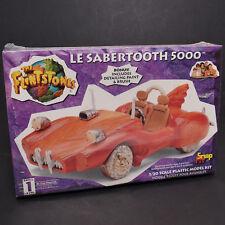 1993 Lindberg Flintstones Le Sabertooth 5000 1/20 Snap Fit Kit 72412 Factory NEW