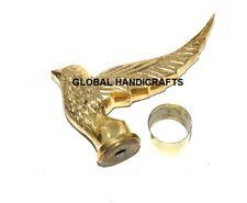 Nautical Solid Brass Designer Bird walking stick Handle Only Bird stick handle
