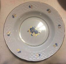 Oscar de la Renta Ashton Blue  Soup Bowl  Bone China