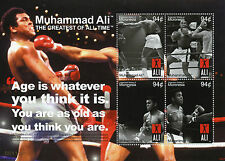 Micronesia 2008 MNH Muhammad Ali Greatest All Time 4v M/S I Boxing Stamps