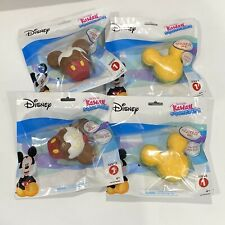 Set of 4 NEW Disney Kawaii Squeezies Series 1 - Mickey Mouse Burgers & Cupcakes
