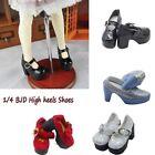 Handmade Mini High Heel Doll Shoes Fit 1/3 1/4 BJD SD DD Dolls