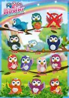 DeAgostini Magiki Eulen Owlettes  komplett Set alle 12 Figuren ohne Gemma