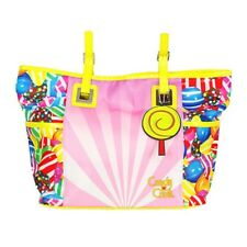Candy Crush Pink Pattern Shoulder Tote