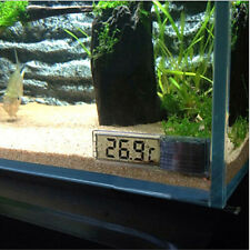 Digital LCD Fisch Aquarium Wasser Thermometer Temperatur Sensor Messergerät