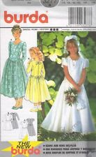 Pattern Burda Sewing Pattern Girl Dress Flower Girl Sz 6-16 NEW