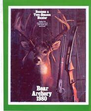 Bear 1980 Archery Catalog