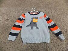 Gymboree boy 5T dinosaur pullover sweater NWT