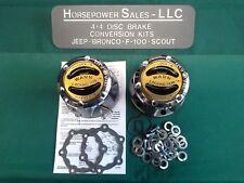 Jeep,Scout II WARN PREMIUM LOCKING HUBS, LOCKOUT HUBS #9062, Dana 30,27 spline