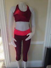 NWT Gap Fit Set Of 2  Legging Capris & Sport Bra Activewear XL Size