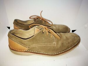 Clarks brown suede casual shoes size 9