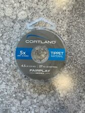 Cortland Fairplay 5X Tippet Free Shipping
