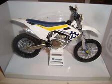 New Husqvarna FC 450 Scale Model 1:12 Die Cast Toy Bike Xmas Gift Motocross