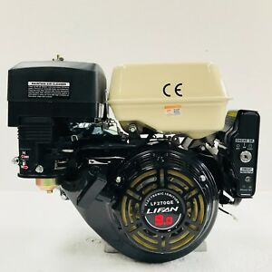"LF270QE 9hp E/S LIFAN PETROL ENGINE Replaces Honda GX270 GX240 1"" Shaft"