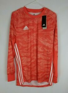 Adidas AdiPro 19 Goalkeeper Long Sleeve Shirt, Orange, Men's Medium