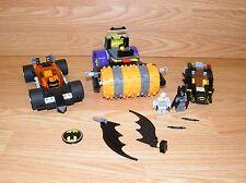 Genuine LEGO Batman Lot - Batmobile Pieces, Mini Figurines, Steam Roller *READ*