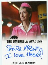 VL The Umbrella Academy S1 Autograph card Sheila McCarthy as Agnes I Love Hazel