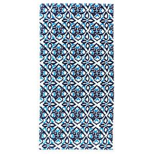 Viv & Lou Sea Glass Royal Blue 60 x 30 Cotton Fashion Beach Towel
