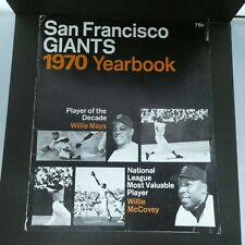 1970 San Francisco Giants Yearbook