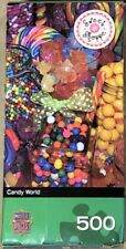SWEET SHOPPE Master Pieces CANDY WORLD Colorful 500 piece Jigsaw PUZZLE