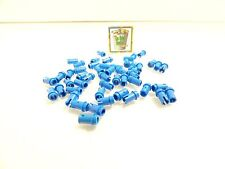 50 Blue LEGO Technic 1/2 Pins Lot part 4274