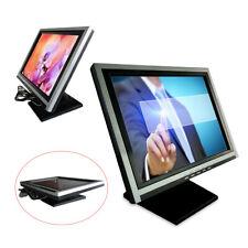 "15"" LCD Touchscreen Monitor Kiosk Kassensystem PC POS Kassenmonitor DE"
