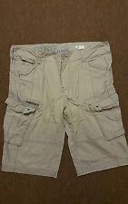 Pantalones cortos estilo cargo para hombre cintura 36