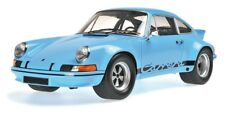 PORSCHE 911 CARRERA RSR 2.8 1973 GULF BLUE MINICHAMPS 107065021 1/18 RESIN