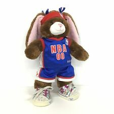 Build-A-Bear Workshop Brown Bunny with Pink Ears NBA Costume #404