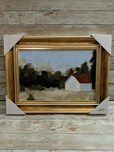 Target Threshold Landscape Canvas Modern Farmhouse Painting like Studio Mcgee