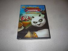 KUNG FU PANDA  LEGENDS OF AWESOMENESS : THE SCORPION STING - DVD BRAND NEW