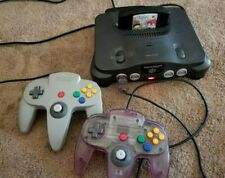Nintendo 64 2 Controllers 5 Games Mario Party Mickeys Speedway And More Lot CE5