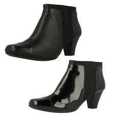 Calzado de mujer Botines color principal negro de charol